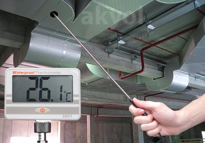 50 cm problu termometre