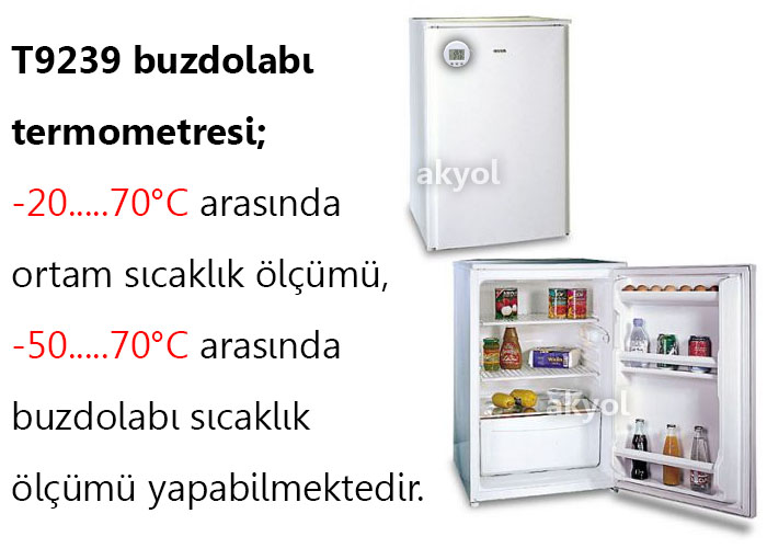 T9239 buzdolabı termometresi