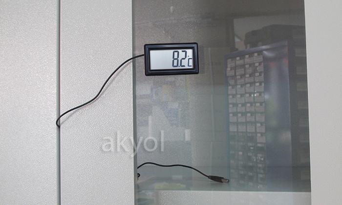 mini problu termometre