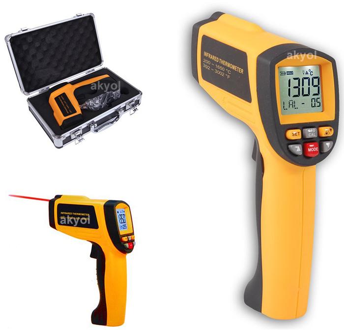 BGM 1650 kızılötesi termometre
