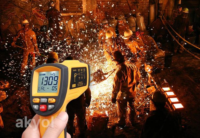 BGM 1650 infrared termometre