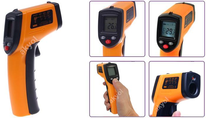 LYK BGM 320 lazerli ısı ölçer