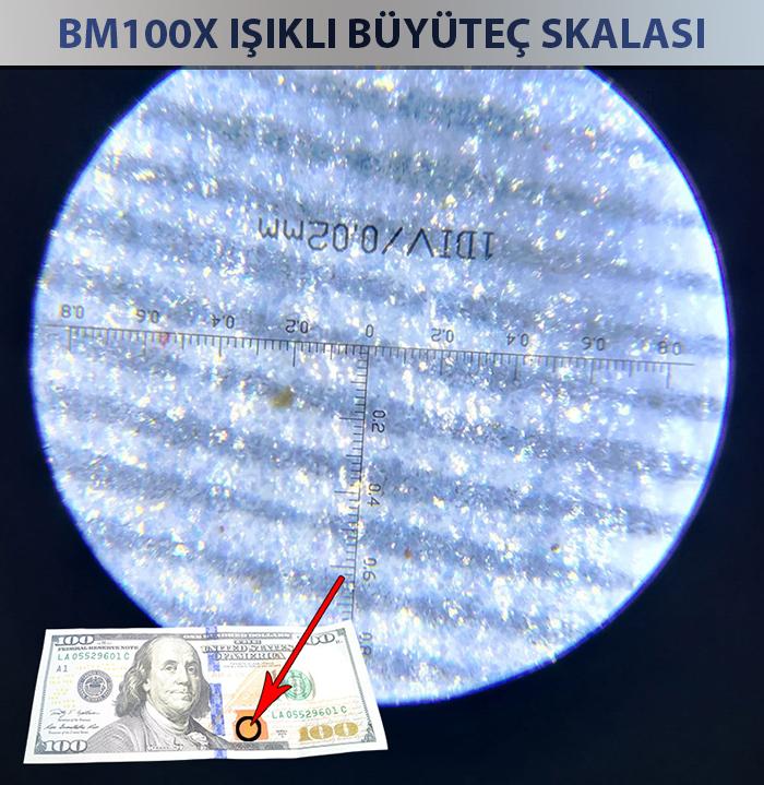 100x dijital büyüteç