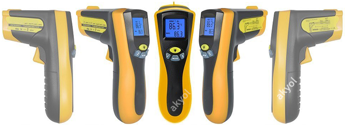 Kızılötesi termometre