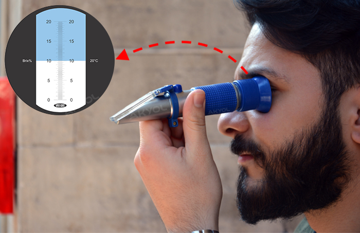 greinorm 20 brix refraktometre