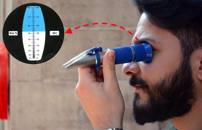 greinorm 80 brix refraktometre