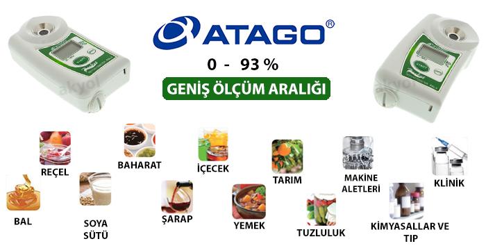 atago pal 3 dijital refraktometre kullanım alanları