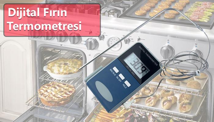 Dijital fırın termometresi