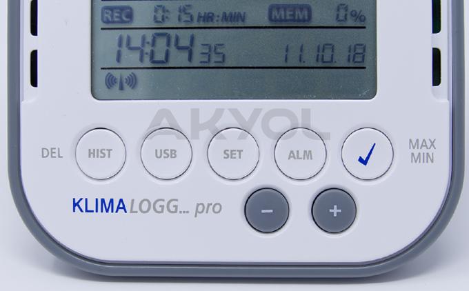 ısı ve nem kayıt cihazı datalogger