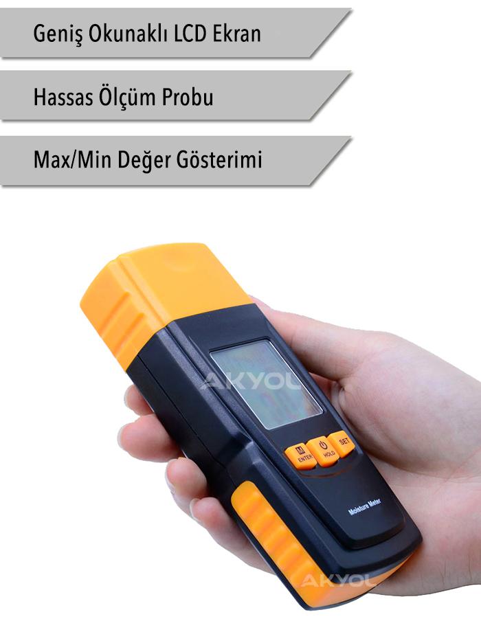 BGM 610 Ahşap Nem Ölçer