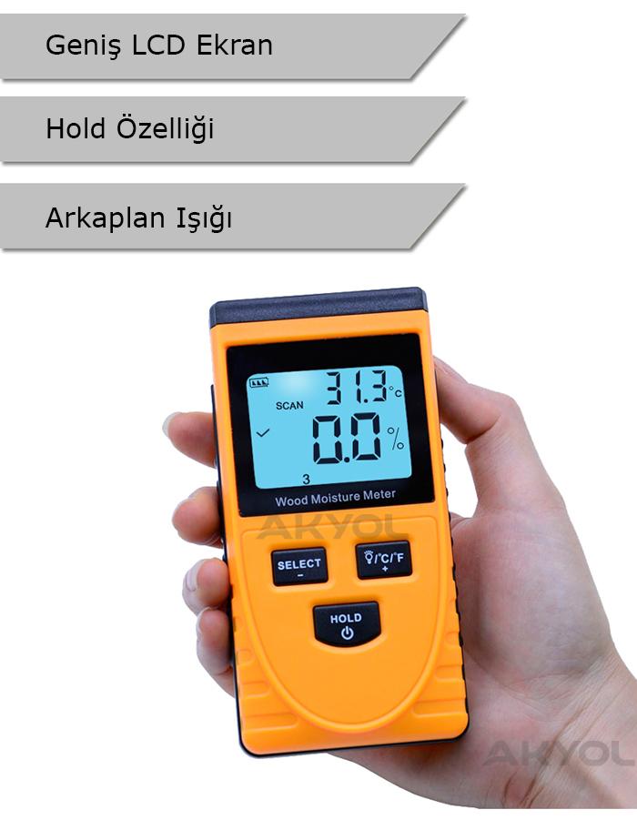 Ahşap nem ölçüm cihazı