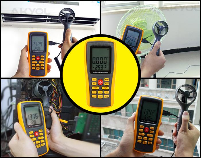 LYK BGM8902 rüzgar hızı ölçer