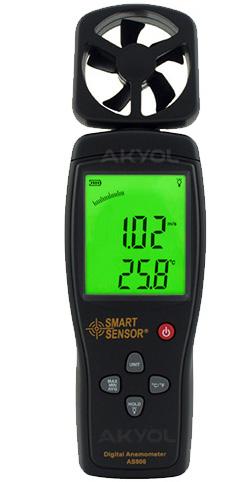 Smart-sensor-as-806-rüzgar-hızı-ölçer
