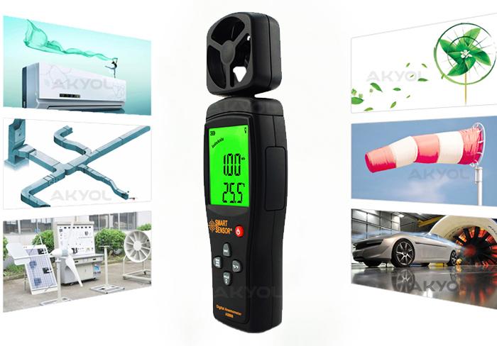 Smart-sensor-as806-rüzgar-hızı-ölçer