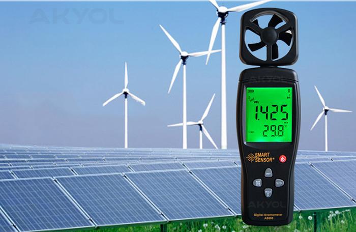 Smart-sensor-as-806-rüzgar-ölçer