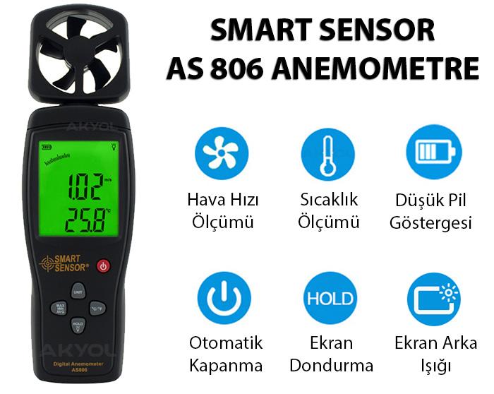 AS-806-anemometre
