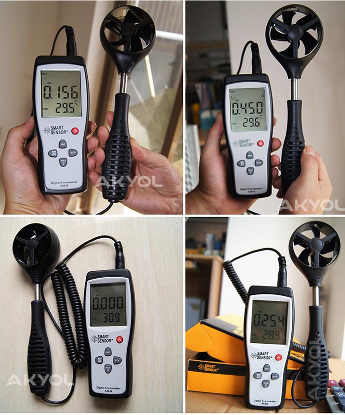 Smart-sensor-as836-anemometre