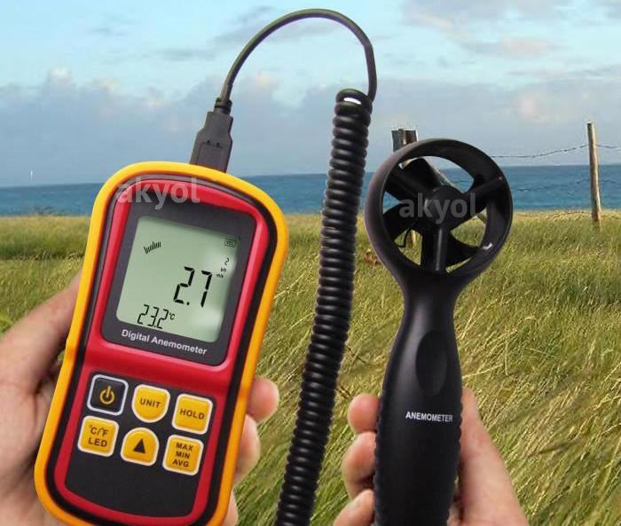 LYK BGM8901 rüzgar hızı ölçer
