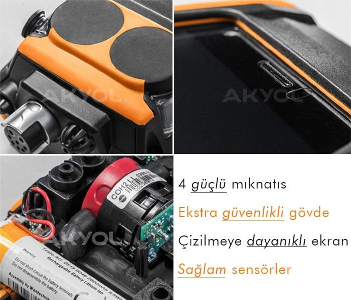 Testo 300 baca gazı analizörü