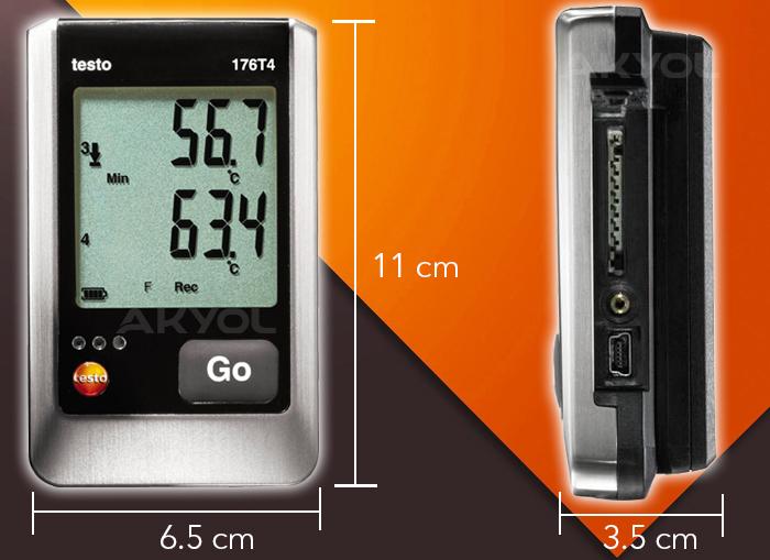 testo 176t4 sıcaklık kayıt cihazı