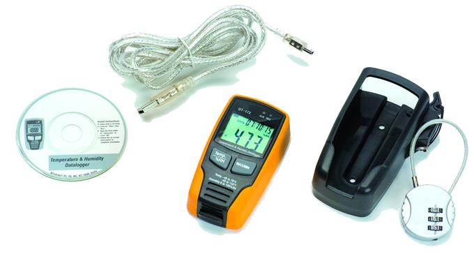 dt 172 sıcaklık ve nem kayıt cihazı
