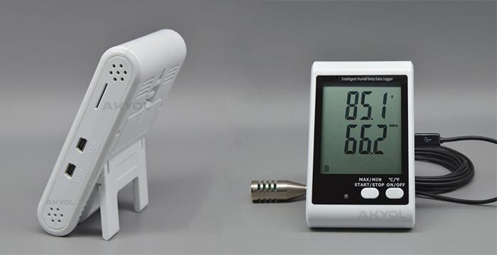 lyk 20e sıcaklık ve nem kayıt cihazı