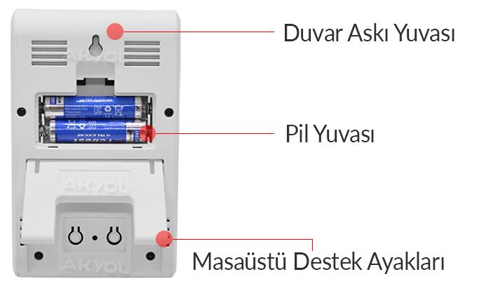 dijital sıcaklık kayıt cihazı