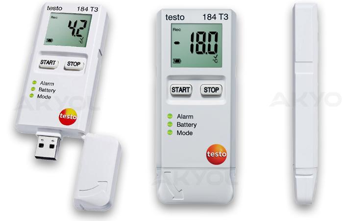 testo 184 t3 sıcaklık kayıt cihazı