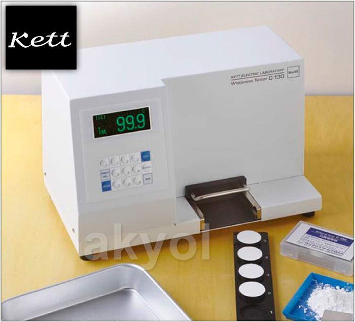 Kett C130 beyazlık ölçer