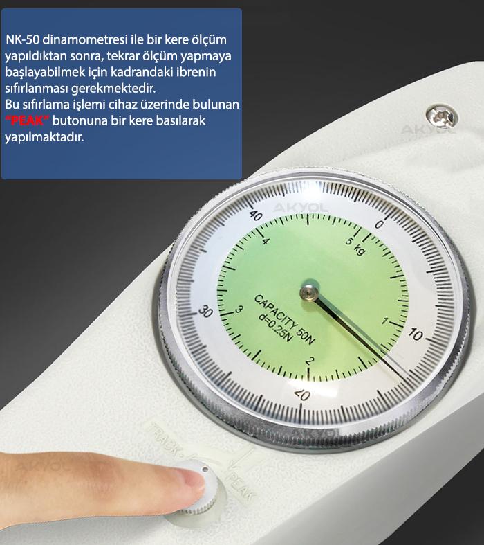 NK 50 Analog Dinamometre
