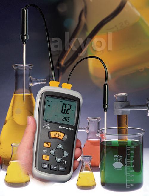 cem dt 613 k tipi termometre