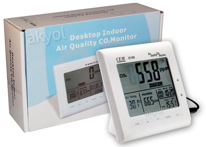 Cem DT 802 hava kalitesi ölçer