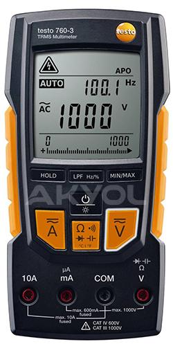 Testo 760-3 multimetre