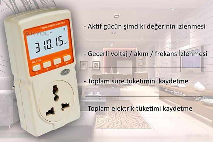 bgm8808 enerji ölçüm cihazı