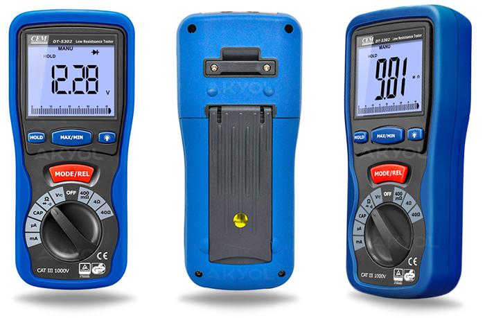 DT-5302 direnç ölçer