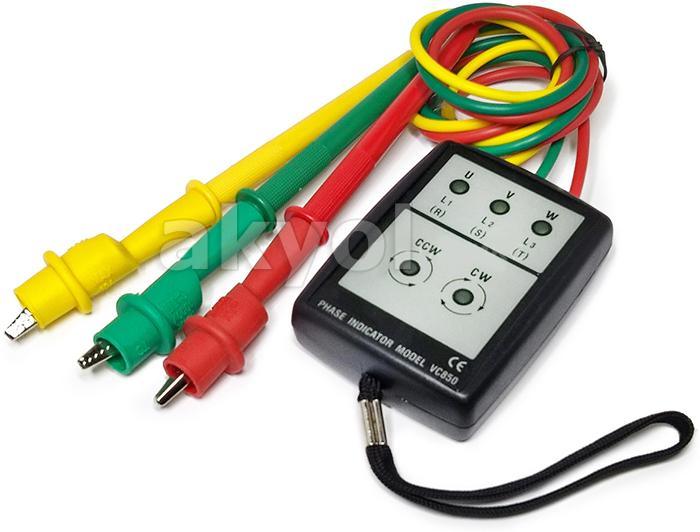 VC 850 faz sırası kontrol cihazı