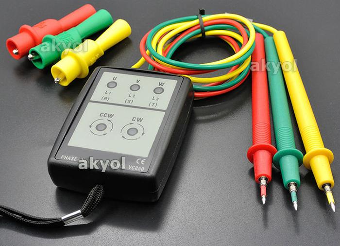 faz sırası ölçüm cihazı