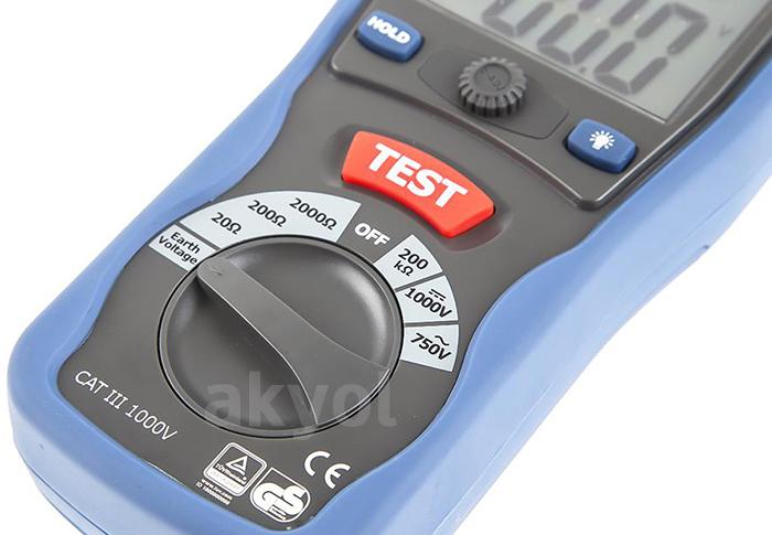 dt5300b direnç ölçer
