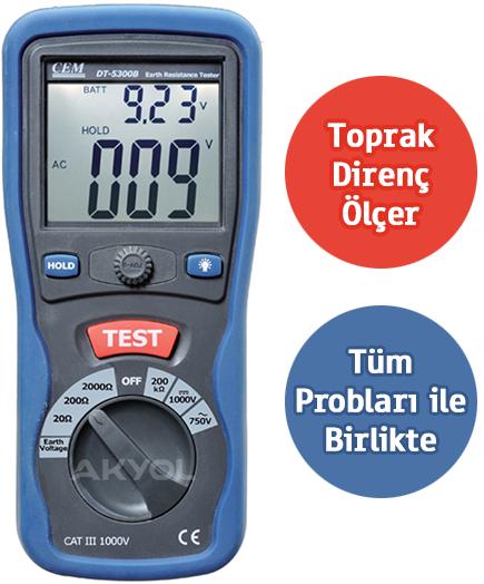 toprak direnç ölçüm cihazı