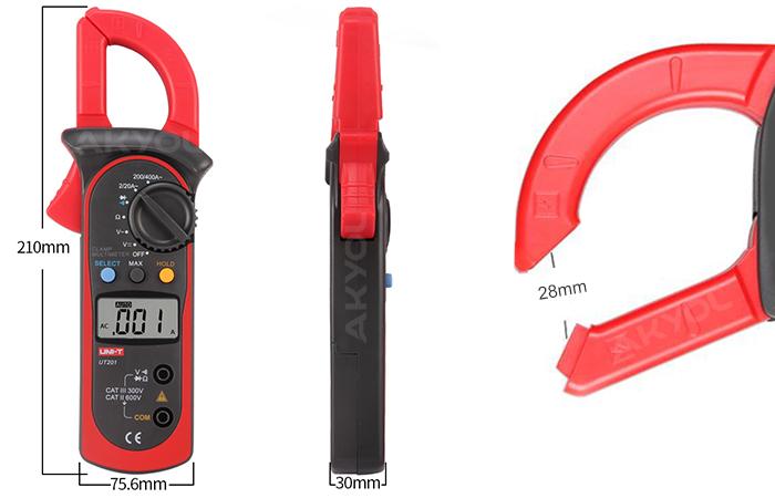 uni-t ut 201 dijital pens ampermetre