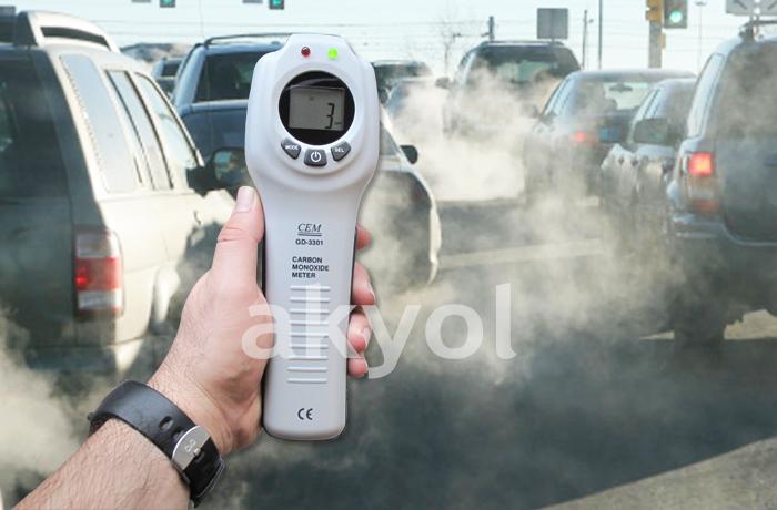 gd-3301 karbonmonoksit ölçer