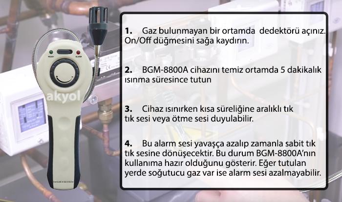 gaz tespit cihazı