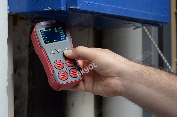 ph4ag gaz ölçüm cihazları