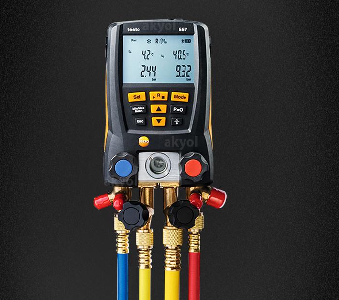 testo 557 bluetoothlu gaz kaçak cihazları