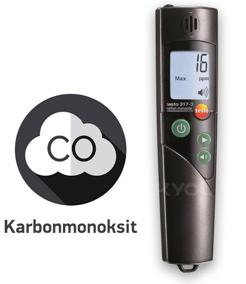 testo 317-3 karbonmonoksit ölçer