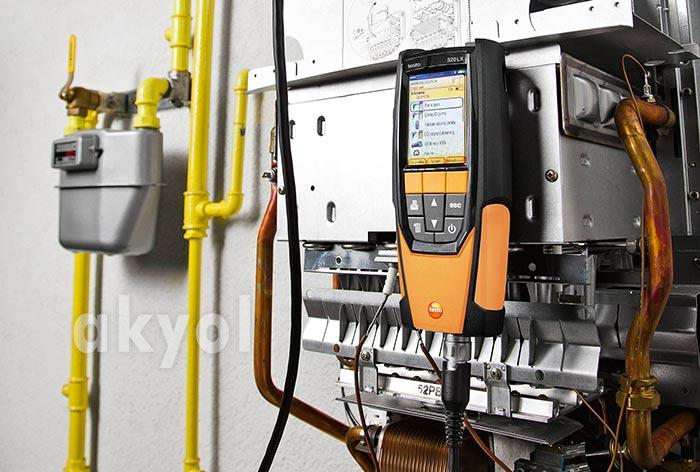 testo 320lx baca gazı analizör
