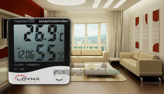termometre higrometre