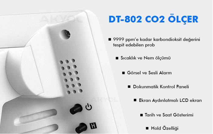 CEM-DT-802 co2 ölçer