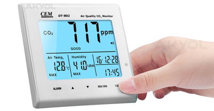 Hava kalitesi ölçüm cihazı