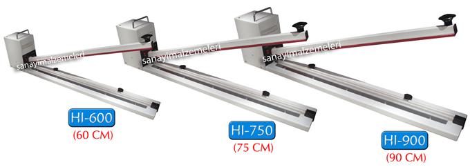 HI 750 poşet yapıştırma makinası
